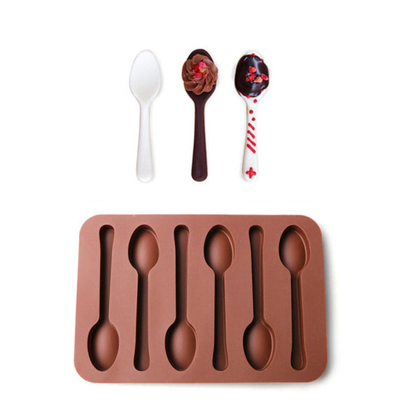 Fun 6-In-1 Spoon-Shaped Mould [FREE + SHIPPING]