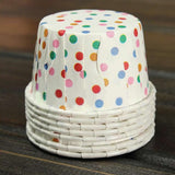 50 Classic Polka Dots Baking Cups