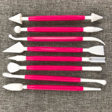 8-Piece Cake Decoration Tool Set