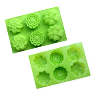 Multi-Flower Silicone Mould
