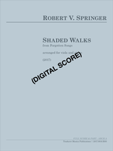 Shaded Walks (arr. viola and piano) (Digital Download)