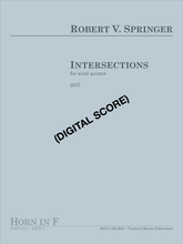 Intersections (Digital Download Score & Parts)
