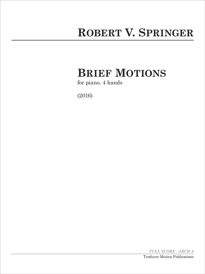 Brief Motions