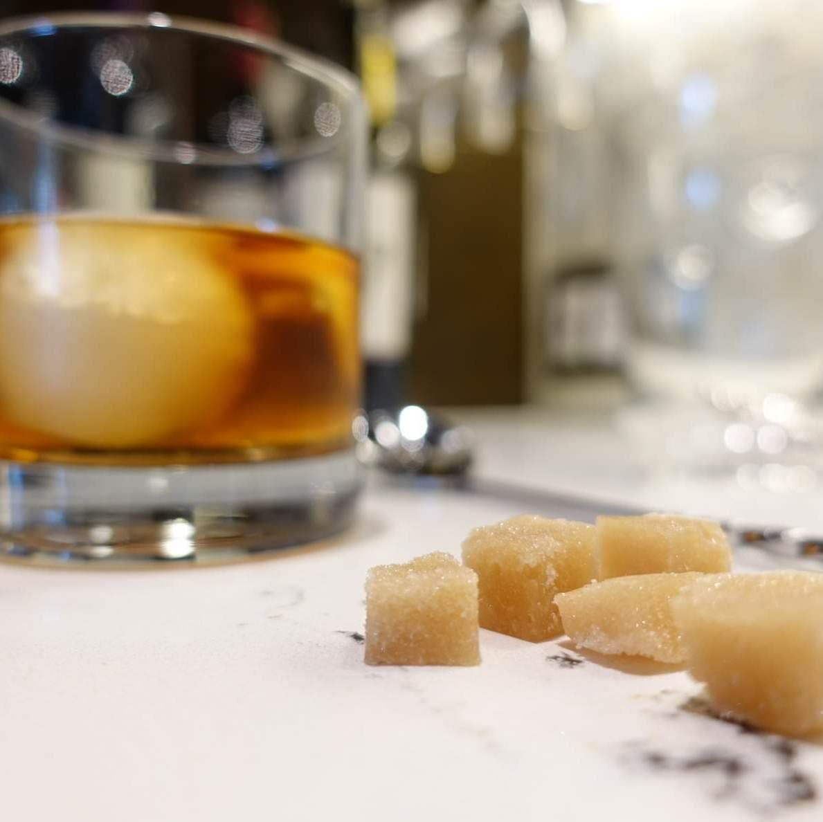 DIY flavored sugar cubes (these aren't the sugar cubes you're looking for)