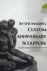 Custom 9th anniversary gift by Small Company Artworks