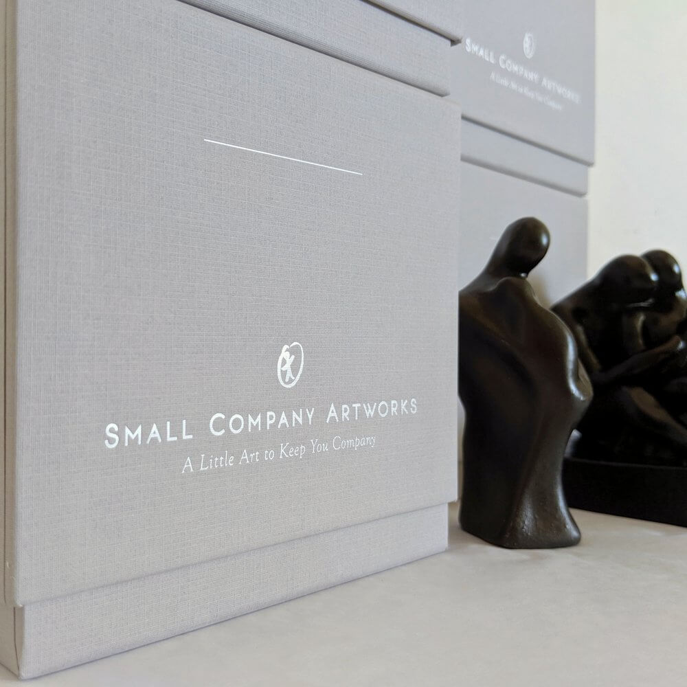 Elegant gift boxes for sculpture - Small Company Artworks