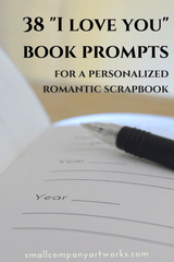 38 i love you book prompts small company artworks
