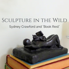 Collector story of her cat sculpture Book Rest