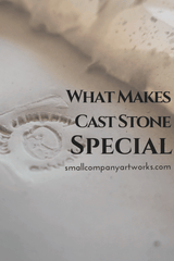 What makes cast stone sculpture special