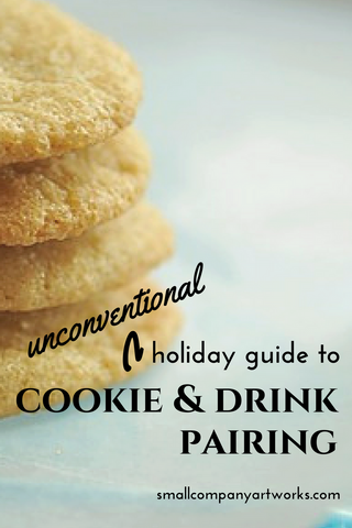 Holiday cookie and drink pairing tips from Small Company Artworks