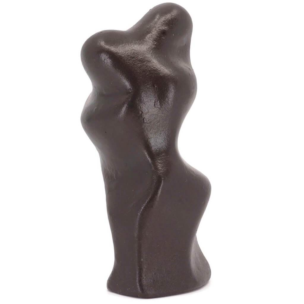 Abstract Embracing Lovers Figure Sculpture Gift - Small Company Artworks