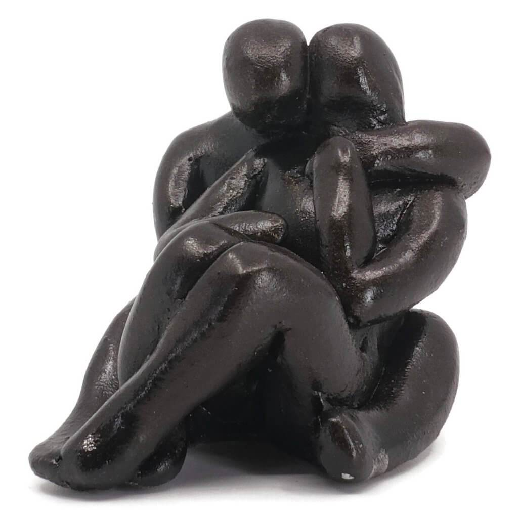 Romantic Couple Sculpture Art Gift - Small Company Artworks