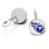 10Pair New Sports Team Stud/Pendant Charm Earrings Football Tennessee Titans For Fans Sports Fashio Earrings