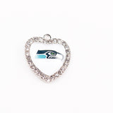 (11 Pieces/Lot) Wholesale! USA Football Seattle Seahawks Charms For Making Jewelry Bracelet Necklaces Earrings Drop Shipping