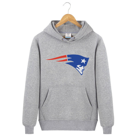 2017 Men Fashion USA Footballs Team New England Printed Patriots Hoodies Male Female Fleece Casual Sweatshirts Brand Clothing