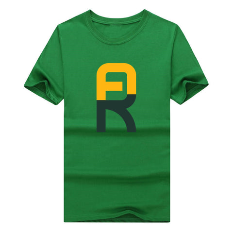 2017 Men Green Bay QB Aaron Rodgers T-shirt Clothes Short Sleeve T SHIRT Packers Men's Fashion The quarterback W0120009