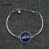 2017 New Football Bracelet Seattle Seahawks Charm Bracelet Couple Love Bracelet Jewelry Wholesale  SPT031