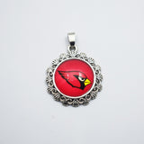 20PCS Newest Time Gem Charm Pendant Football Arizona Cardinals Sport For Fans DIY Necklace/Bracelet Jewelry