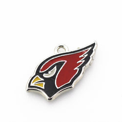 20pcs/lot Arizona Cardinals Charm Football Hanging charm Sports Dangle Charms DIY Bracele&bangles Floating charm Jewelry