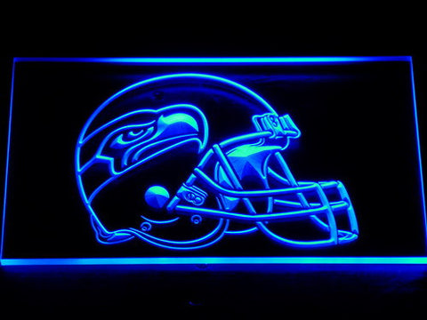 255 Seattle Seahawks Helmet Bar LED Neon Sign with On/Off Switch 7 Colors to choose