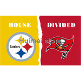 3'x5' Pittsburgh Steelers flag VS Tampa Bay Buccaneers banner Tigers flag GIFT banner 150x90cm