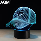 3D LED MBL Sport Shape Illusion USB Table LightTouch 7 Colors Toronto Blue Jays Lampara Desk Lamp For Children Kids Nightlight