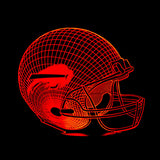 3D Lamp NFL Team Logo Collection Pittsburgh Steelers Football Helmet  7 Color Nightlight for Kid Bedroom Christmas Toy Gifts