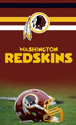3FTX5FT Washington Redskins  100D polyester digital printed banner with 2 Metal Grommets  free shipping