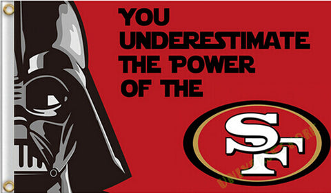 3X5FT  San Francisco 49ers flag  custom flag banner  Digital Print free shipping