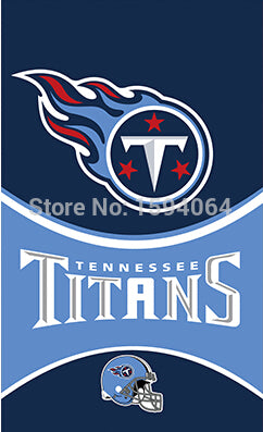 3X5FT Tennessee Titans flag 150x90cm 100D polyester digital printed banner