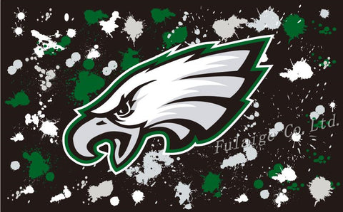 3ftx5ft origin mark NFL Philadelphia Eagles flag of high quality polyester activities decorative flags