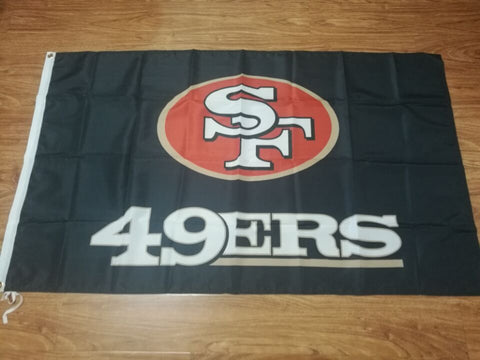 3x5 ft San Francisco 49ers flag metal hole 100% polyester Free shipping