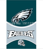 3x5ft Philadelphia Eagles flags 90x150cm polyester digital print banner with 2 Metal Grommets