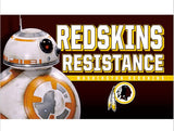 3x5ft Washington Redskins Nation Flag 100D Polyester Flag metal Grommets 90x150cm New Design in hot sell