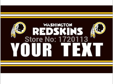 3x5ft Washington Redskins your text flag 90x150cm polyester banner