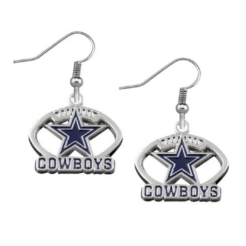 5 Pairs Enamel Alloy Dallas Cowboys Earrings Fans Drop Women Jewelry Earring Sets