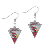 5 Pairs Football Fans Earrings Alloy With Enamel American Football Arizona Cardinals Charm Drop Earrings