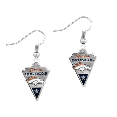 5Pairs American Football Denver Broncos Sport Team Dangle Earrings Jewelry For Fans Gift