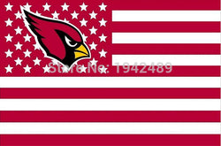 90x150cm  Arizona Cardinals flag  banner 100D Digital Printing flag  free shipping