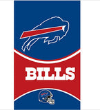 90x150cm Buffalo Bills flags  polyester digital print banner with 2 Metal Grommets 3x5ft