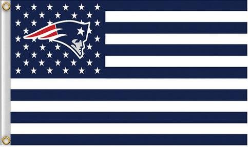 90x150cm New England Patriots flag banner
