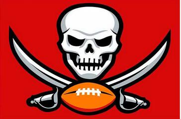 90x150cm Tampa Bay Buccaneers Flag  Polyester 100D Digital printing Decorative Activity Banner