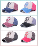[AETRENDS] 6 Colors ! Star Patchwork Baseball Cap Men or Women Polo Hats Z-1462