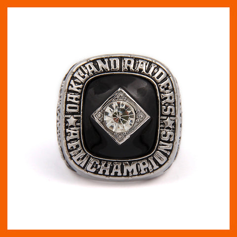 AFC 1967 OAKLAND RAIDERS AMERICA FOOTBALL CHAMPIONSHIP RING US SIZE 6 7 8 9 10 11 12 13 14 AVAILABLE