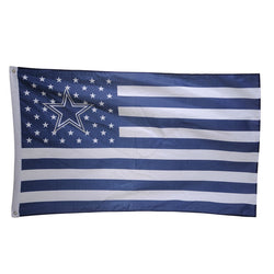American USA Dallas Cowboys USA Team Flag With Stars and Stripes Banner For Outdoor Sport Decoration Drop Shipping
