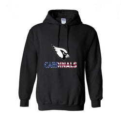 Arizona Bird Legend Ameircan Flag Mens Casual Hoodies Cardinals Hoody Solid Sporting Clothes O-neck Outwears XS-2XL
