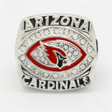 Arizona Cardinals 2008 NFC National Football Championship Ring Replica Size 11 for men big ring