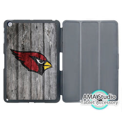 Arizona Cardinals American Football Cover Case For Apple iPad Mini 1 2 3 4 Air Pro 9.7 Stand Folio Wake Up Sleep Function
