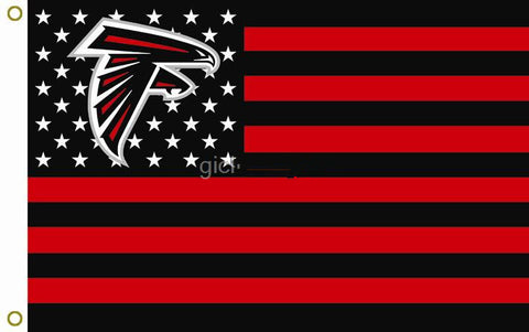 Atlanta Falcons NFL flag, selling hot goods 3X5FT 150 X 90 CM 100D polyester, Free Shipping