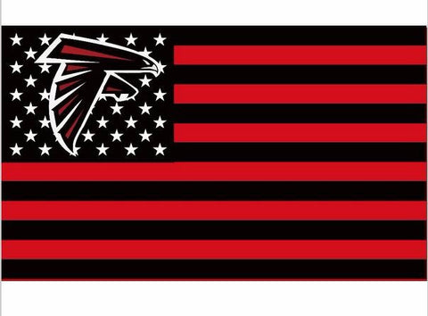 Atlanta Falcons US flag with star and stripe 3x5 FT NFL Banner General printing Flag metal Grommets